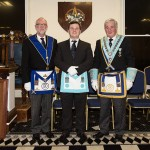Bro Anthony and Masters of both Lodges